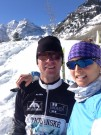 Beh na lyžiach